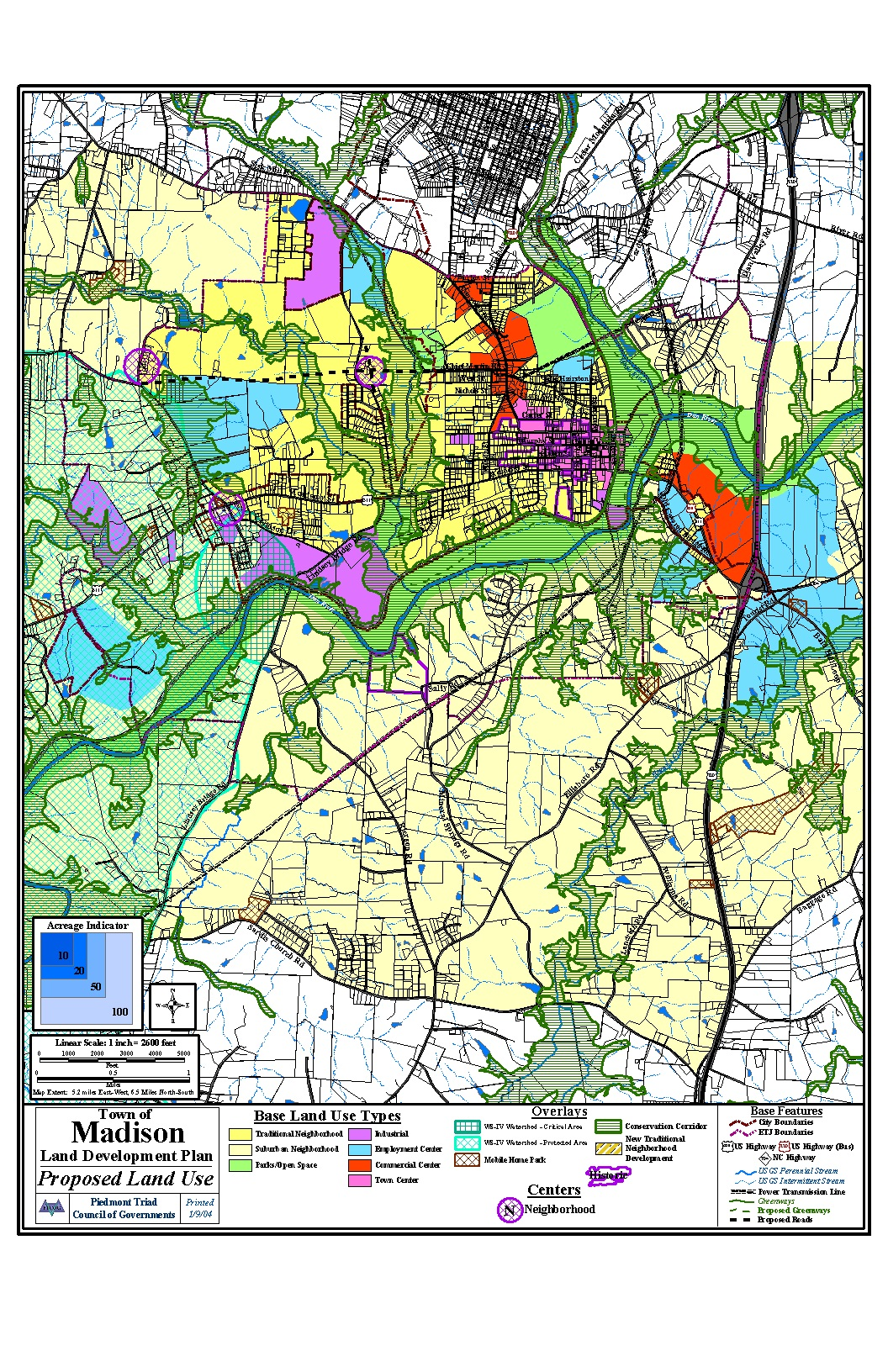 Land Use Plan - Town of Madison City Of Madison Zoning Map on